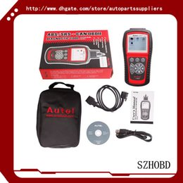 Wholesale Srs Scanning Tools - 100% Original Autel AutoLink AL619 AL 619 OBDII CAN ABS And SRS Scan Tool Update Online Works on ALL 1996 and newer vehicles