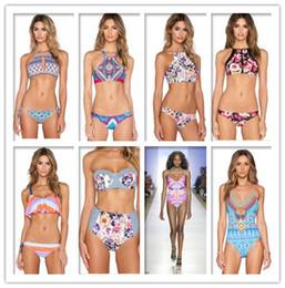 Wholesale Trade Swimwear - new 10 STYLES triangular sexy bikini ladies swimwear hot sell swimwear female foreign trade Free shipping for DHL