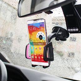 Tragbare auto windschutzscheibe armaturenbrett universal handyhalter handyhalterung für iphone 6 plus 6s android von Fabrikanten