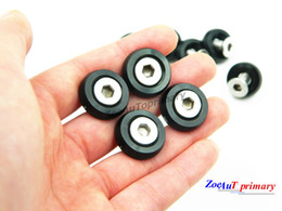 Wholesale Bumper Shipping - 10piece set Black M6x20MM Aluminum Fender Bumper Washers with Bolts DRESS UP for honda Free shipping