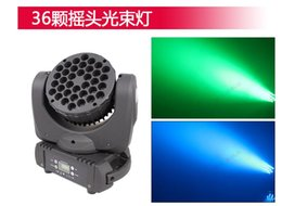 Wholesale Top Dj Lights - Mac 101 36X3W RGB moving head light Top Level Stage Decor Lighting Led Moving Head Beam lighting for dj Club with free shipping