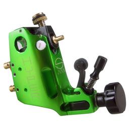 Venta al por mayor de alta calidad Estigma Hyper V3 Tattoo Machine Pistola giratoria del motor suizo de color verde para Shader y forro Envío gratis desde fabricantes