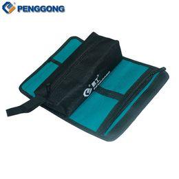 сумки для холста Скидка Wholesale-Storage Tools Bag Reels Utility Bag Multifunction Oxford Canvas Electrical Package Waterproof With Carrying Handles