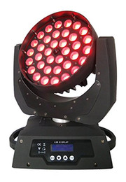 Wholesale Christmas Wash Light - LED Wash Zoom Moving head light 36x12w RGBW 4in1 DMX Stage Light for Wedding Christmas Birthday DJ Disco KTV Bar Event Party Show