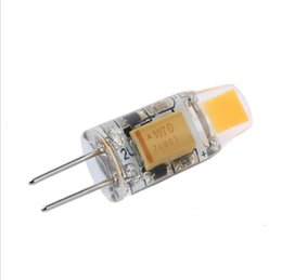 Wholesale G4 Led For 12v Ac - NEW Arrival 12V AC DC COB G4 LED Bulb 2w COB LED G4 Lamp Light for Crystal Chandelier G4 LED Lights Lamps Dimmable 20pcs lot