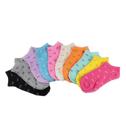 Wholesale Cute Low Boots Women - Wholesale-6Pair Multiple Colors Women 3D Printed Socks Boot Cute Low Cut Ankle Socks Women's Casual Ladies Socks Sports 2016 New Arrival