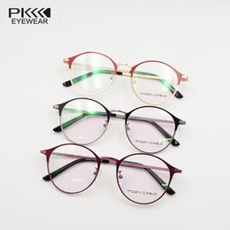2a2921f4fb Cheap optical eyeglasses clear anti bluelight lens fashion frames2017 retro  round vintage spectacle frame for prescription women man glasses