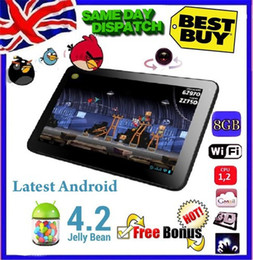 """Wholesale Allwinner A13 Dual Camera - Freeship gift android tablet pc 9"""" inch Google LATEST ANDROID 4.2 Dual camera Allwinner A13 Tablet PC 8GB Wi-Fi"""
