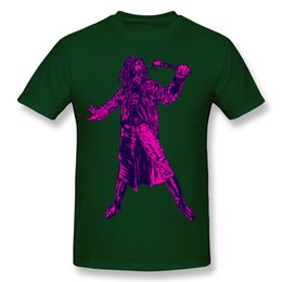 Wholesale Rebel T - Low Price Sale Summer Rock Leisure Style Men's Cotton Top Art Rebel Neon 3D print shirt Small round neck short sleeve T-shirt