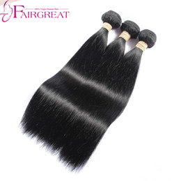 Wholesale Indian Hair Promotion - Promotion Indian Straight Human Hair Weave 6-34inch Unprocessed Indian Human Straight Hair Weave 3Bundles Indian Human Hair Extensions