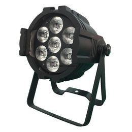 Wholesale Dmx 8ch - 90W 7 * 12W RGBM 4in1 Stained Par Light LED Effect Light Stage Lamp Sound Control Self-Handling Control 8CH DMX 512 Disco DJ Bar Party Light