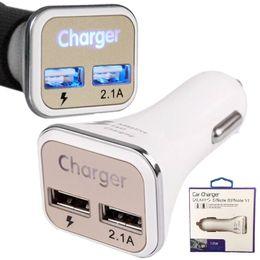 Automobile del caricatore eccellente online-Caricabatteria da auto Adaptive QC2.0 LED carica rapida Caricabatteria da auto super veloce per Samsung Galaxy Note 5 S6 S7 Edge S8 S8 plug per iphone 5 6 7