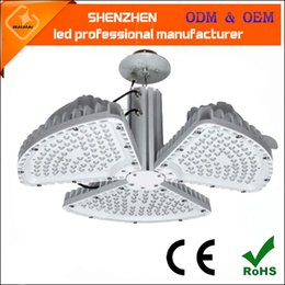 Wholesale Cool Fan Design - 2016 new design 500w ceiling fan type led high bay light hanging led low bay lamp 120lm w high quality led ceiling light