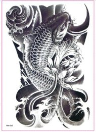 Wholesale Pc Wallpaper Free - 3 Pcs Sexy Temporary Tattoo Stickers Waterproof Temporary Body Art Painting 21*15cm Free Shipping sticker wallpaper