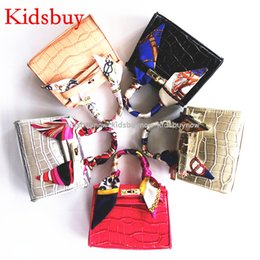 Wholesale Branded Handbags For Girls - Kidsbuy Famous brand Handbags for Childrens Kids Leather Totes Baby Kids Small Messenger Bags Classic style Purse for preschool girls KB014