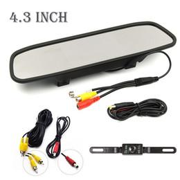"Wholesale Rear Vision Systems - New 4.3"" TFT LCD Monitor Car Rear View System Backup Reverse Camera Kit Night Vision"