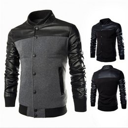 Wholesale Plus Size Sweater Coat - Fashion Winter Autumn Men'S Clothing Jackets Sweater Long Sleeve Black Gray Men'S Jacket Hooded Casual Slim Outerwear Coat Plus Size M-3XL