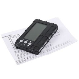 Wholesale Lipo Meter - 3in1 Rc 2s-6s Lipo Li Fe Battery Balancer Lcd Register free Shipping Voltage Meter Tester Discharger