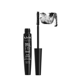 Wholesale Thick Dolls - High quality makeup NYX Doll Eye Mascara Waterproof Hydrofuge Curls Eyelashes Thick and lengthening Brand makeup false eye black color
