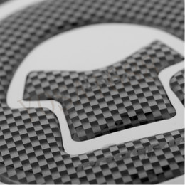 Wholesale Sticker Gas Tank Motorcycle - New Carbon-Look Fuel Gas Cap Cover Pad Sticker For Honda CBR 600RR F4i Motorcycle Fuel Tank Cover