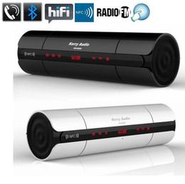 Wholesale Mini Loud Speaker Subwoofer Mp3 - High Quality NFC FM HIFI Bluetooth Speaker KR-8800 Wireless Stereo Portable Loud speaker Bluetooth Boombox Super Bass MP3 Player