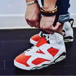 Wholesale Womens Air - New arrival air retro 6 shoe Gatorade Man Basketball Shoes Red Orange top quality retro 6s Womens sport Trainer Sneakers US 5-13
