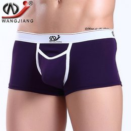 Wholesale Skate Shape - 2017 WJ Boxers cueca masculina pant for men shape skate high elasticity men trunks mens boxer shorts modal 2008-PJ