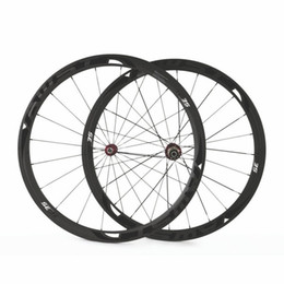 Wholesale Road Racing Bicycle Wheels - 2017 38mm 700C carbon Road bike wheels 23mm width 3K UD matte glossy chinese 100% Carbon bicycle cycling racing wheelset 38mm free shipping