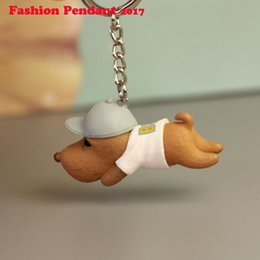 2017 New Corgi Dog Figure Dogs Key Ring Shape Cheap Lovely Keychain Car Keyring Very Key Gift Jewelry Sets & More Jewelry & Accessories