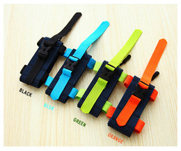 Wholesale Cell Phone Wrist Bands - Unisex Outdoor Sports Running Wrist Bag Mobile Phone Waterproof Fabric Arm Bag Adjustable Cell Phone Arm Bag Band