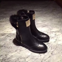 Wholesale Lace Up Pump Boots - Woman Fashion Women Ankle Boots High Heels Lace up Snow Boots Platform Pumps keep warm women boot