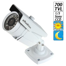 Wholesale Dome Color Cctv - 1 3 Inch Sony Effio-E Color CCD 700TVL 3.6mm Lens OSD Menu Dome CCTV Camera