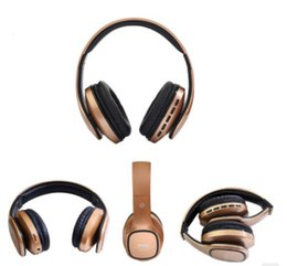 Wholesale Headset Microphone Ordering - KDK56 Bluetooth headphone foldable headphones wireless microphone earphone with power bass mix order Materialcard FM mix order Material