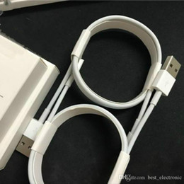 Wholesale Box Package For Usb Cable - 7 generations With retail package boxes cables 1m 3ft USB Data Sync Charger Cable for I Phone 100pcs free shipping