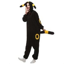 Wholesale Kigurumi Unisex Pyjamas Cosplay Costumes - Lovely Pikachu Fashion Yellow Outfit Pajamas Kigurumi Cosplay Costume flannel Pyjamas Onesies Adult Romper fancy dresses poke mon Sleepwear