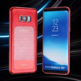 Wholesale Lg Smartphone Covers - For Samsung NOTE 8 Smartphone Back Cover Case for Samsung S8 Plus Leather Pattern Texture Soft TPU Comfort Phone Case Cover