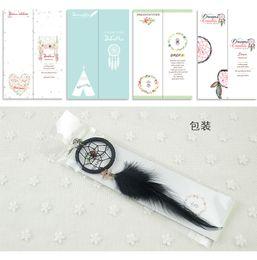 Wholesale Dreamcatcher Design - 2016 New design Key rings Black Feather Dreamcatcher Key Rings Creative Handmade key rings free shipping