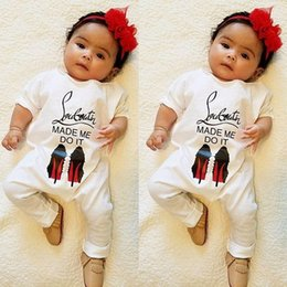 Wholesale Baby Clothes Animals - Baby Clothing New arrival Child Long-sleeve o-neck Letter Romper Wide Collar Romper 8 p l Free Shipping