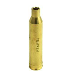 Wholesale Cartridge Red Laser Bore - Timberwolf Riflescope Laser Red Dot 7mm Brass Cartridge Bore Sight Sighter Gold