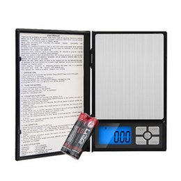 Wholesale Bathroom Benches - Household clamshell jewelry scale electronic means high-precision 500g 0.01g LCD backlight precision pocket electronic palm scale