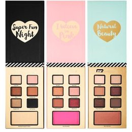 Wholesale Chrismas Set - 2017 best year ever set Chrismas Limited Edition Eyeshadow Blush palette I believe in pink Natural Beauty Super Fun Nigth EyeShadow Set