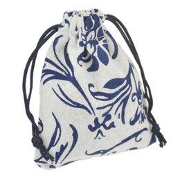 Canada JLB Drawstring Bijoux Pochettes sac Egypte et Inde Mystérieux Style Coloré Coton cadeau paquet sac 9.5x11.5 cm Offre