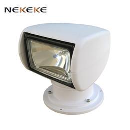 Wholesale Remote Control Suv - high quality hot selling 12V 100W Bulb Wonderful Remote Control Spotlight For SUV Car Marine Searchlight