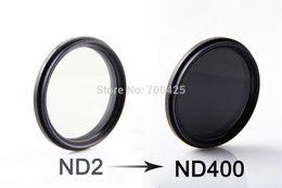 Wholesale Neutral Density Filter Nd2 - 2014 new Pangshi 72mm Fader ND 2-400 Filter Adjustable Variable Neutral Density Filter ND2 to ND400 72mm Filter Free shipping