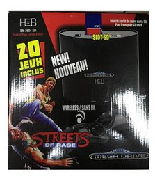 Wholesale Game Cartridges - Hotconsole Game Cartridges Console Player Sega Video MD Built Games Mega Drive Street Rage Limited Edition PS3 Thick Machine Color