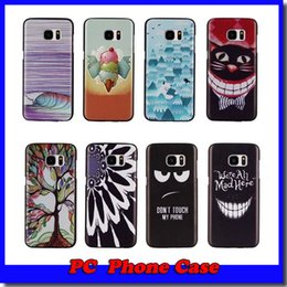 Caso da parte traseira da onda do iphone on-line-Árvore da vida / onda / a boca do gato / abraço treepc voltar phone case capa para iphone 4 5 6 plus samsung