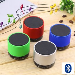 Wholesale Compact Stereos - Wholesale- Portable Mini USB Bluetooth Speaker Compact Stereo Uiniversal Wireless Audio Music Loud Speakers Surpport Micro TF Card AUX