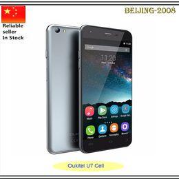 "Wholesale Tv Mobile 8mp Camera - Oukitel U7 5.5"" IPS MTK6580 Quad Core 1.3GHz Mobile Phone Android5.1 1GB RAM 8GB ROM 8MP Dual SIM 2000MAH 3G GPS Smartphone"