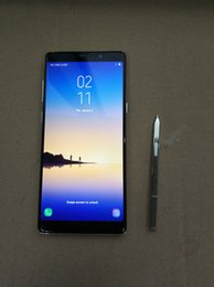 Wholesale Dual Sim Android Smartphones - Goophone note8 Note 8 1+8g Curved Edge 6.3inch smartphones Android 7.0 smartphone 6GB RAM 64GB Octa Core shown 4G LTE cell phones