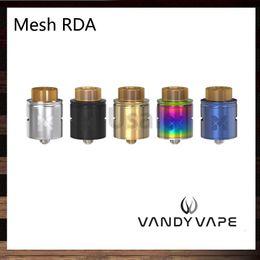 Wholesale Unique Metals - Vandy Vape Mesh RDA Compatible with Mesh Wire and Standard Coil Builds Unique Invisible Clamp Style Postless Build Deck 100% Original